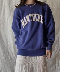 【USED】 90's USA Champion Reverse Weave NANTUCKET/210324-004