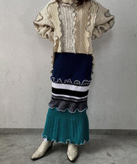 【RE;CIRCLE】 Mellow  Knit Skirt ① / 210106-016