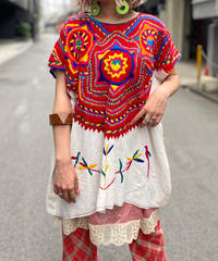 【Used】N/S Embroidery Ethnic Tops