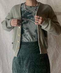 【USED】Acrylic Knit Cardigan/210226-012