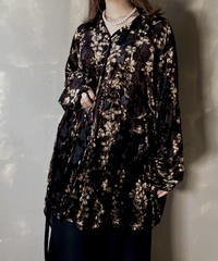 【USED】 L/S Velour Shirt  / 201204-006