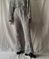 【RE;CIRCLE】 RE Crochet Pants③/ 210611-017