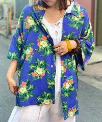 【Used】S/S   Aloha Shirt  BLU