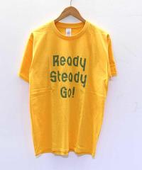 [READY STEADY GO] S/S T-SHIRT (GOLD)