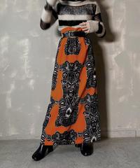 【USED】 Velour Long Skirt / 201204-012