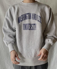 【USED】 90's USA Champion Reverse Weave Sweat WASHINGTON AND LEE / 210127-052