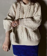【USED】 Aran Knit ① / 201125-010