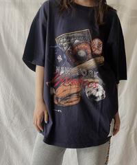 【USED】S/S T-shirt NEW YORK YANKEES ① /210602-014