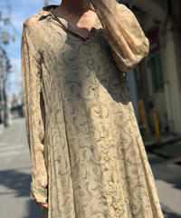 【Used】 L/S  See-through  One-Piece  /200901-018
