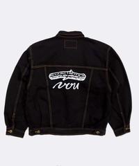 VOU/棒 × 森 Denim Jacket  17 (Black)
