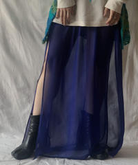 【USED】 See-through Long Skirt/210303-029