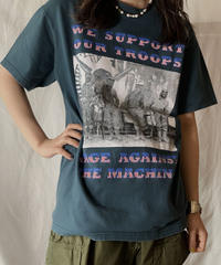 【USED】 S/S T-shirt RAGE AGAINST THE MACHINE/210526-038