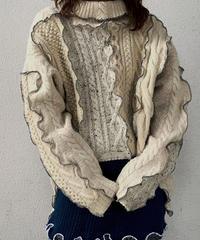 【RE;CIRCLE】 Mellow Aran Knit ③ /210106-015