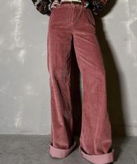 【USED】 Corduroy  Flared Pants / 201204-019