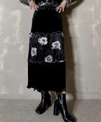 【RE;CIRCLE】 Mellow  Velour Skirt ④ / 201212-018