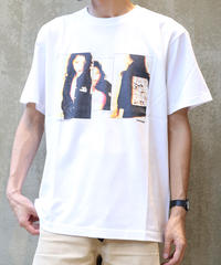 [montage] Aya Kawasaki vivid SS T-shirt (White)