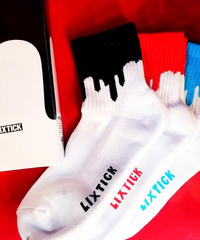【LIXTICK】3P Sox (Red/Blue/Black)