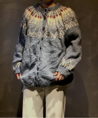 【USED】Nordic Knit Cardigan / 201104-011