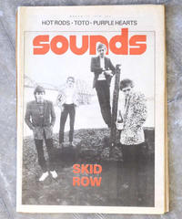 sounds magazine(march/10/1979:表紙 SKID ROW)