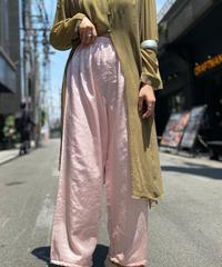 【Used】Satin Easy Pants 5