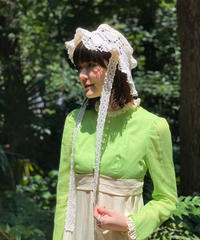 【RE;CIRCLE】Crochet Lace  Hat  WHT