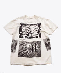 [Used] Short Sleeve T-shirt (Escher art 2)