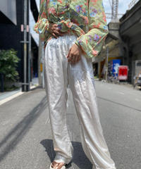 【Used】Satin Easy Pants 6