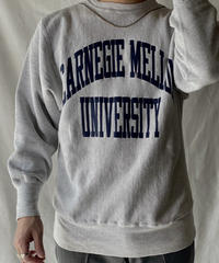 【USED】 90's USA Champion Reverse Weave Sweat CARNEGIE MELLON / 210127-051