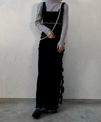 【RE;CIRCLE】 Mellow Velour Dress /210120-017