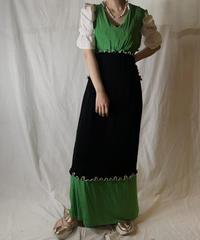 【RE;CIRCLE】  RE Spandex Mellow N/S Dress④/210521-009