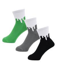 【LIXTICK】3P Sox ( Green/Grey, Black)