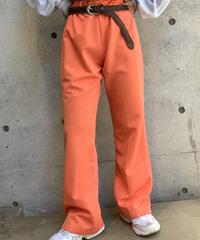 【Used】Orange Flare Pants  /200915-0015
