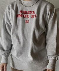 【USED】 90's Mexico Champion Reverse Weave Sweat NEBRASKA / 210127-048