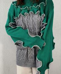 【RE;CIRCLE】 Mellow Knit Top ① /210106-020
