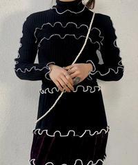 【RE;CIRCLE】 Mellow Rib Knit Sweater ① /210120-008