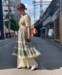 【Used】Vintage Flower Pattern Dress