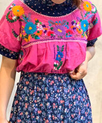 【Used】S/S Ethnic Short Tops
