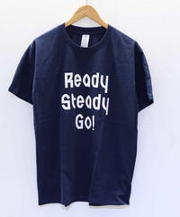 [READY STEADY GO] S/S TEE (NAVY)