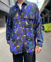 【Used】Rayon Pattern Shirt 5