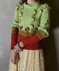 【RE;CIRCLE】 Mellow Shaker Knit ④ /201202-005