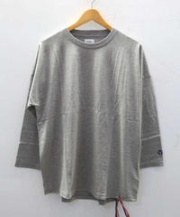 [ORIGINAL] 3/4 DROP SHOULDER T-SHIRT(GRAY)