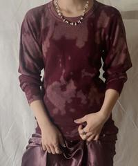 【RE;CIRCLE】Tie Dye Dyeing Thermal Shirt ①/210226-011