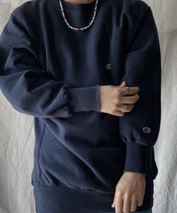 【USED】90's USA Champion Reverse Weave Sweat One Point /210213-018