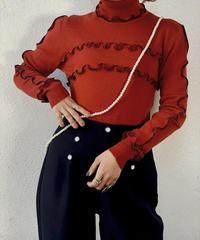 【RE;CIRCLE】 Mellow Rib Knit Sweater ③ /210120-020