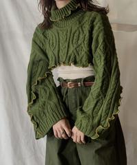 【RE;CIRCLE】 Mellow Knit Sweater⑤/210217-030