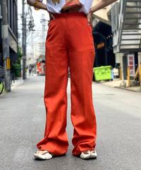 【Used】 Orange  Flare  Pants
