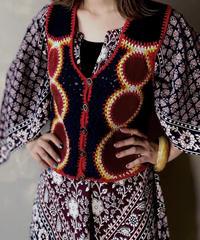 【USED】 Knit Vest ① / 201120-012