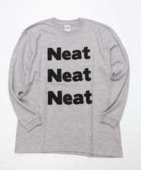 [Culture is me]  Long sleeve T-shirt Neat