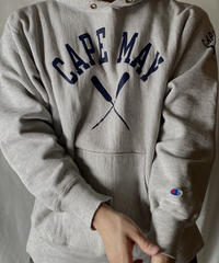 【USED】 90's USA Champion Reverse Weave Hoodie CAPE MAY / 210127-047