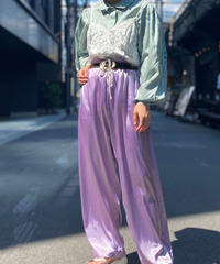【Used】Satin Easy Pants  2
